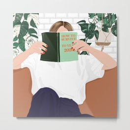 How to survive to year 2020!  Metal Print