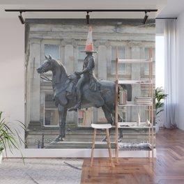 Scottish Photography Series (Vectorized) - Duke of Wellington Statue Glasgow #2 Wall Mural