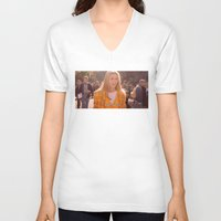 clueless V-neck T-shirts featuring AS IF! by Fashionable