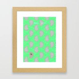 Good Times Paisley Framed Art Print