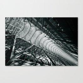 Allen Lambert Galleria |  Atrium by Santiago Calatrava Canvas Print