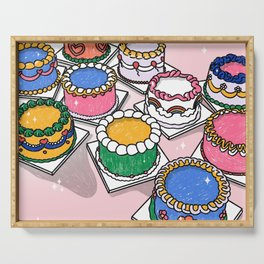 cake party  Serving Tray