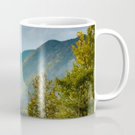 Sunlight Valley // Dense Forest View through the Autumn Colors in Colorado Coffee Mug
