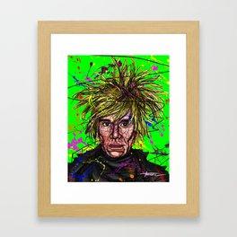 Pop Art Genius Framed Art Print