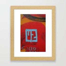 U 2 Framed Art Print