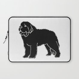 I have Connected the SAINT Doggy Dots! Laptop Sleeve