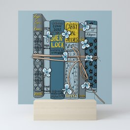 Book-type Packages Tied Up With String Mini Art Print