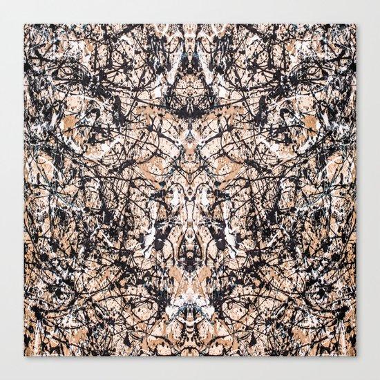 Reflecting Pollock Canvas Print