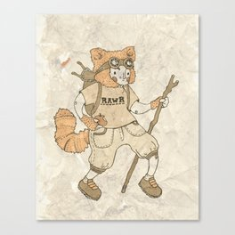 Young Explorer Canvas Print