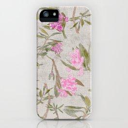 Alpine Rose iPhone Case