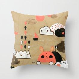 Tobermory Throw Pillow