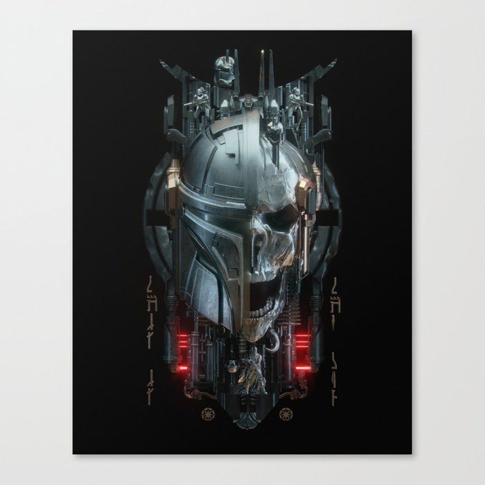 Mando - 3 Canvas Print