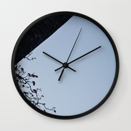 Sky and Moon Wall Clock