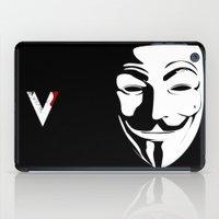 vendetta iPad Cases featuring Vendetta by The Vector Studio