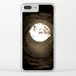 Drill Hole Clear iPhone Case