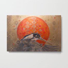 Visions of the Kingfisher Metal Print
