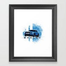 Shelby Tee Framed Art Print