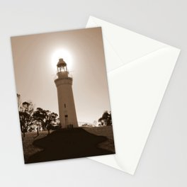 Midday over Lighthouse Stationery Cards