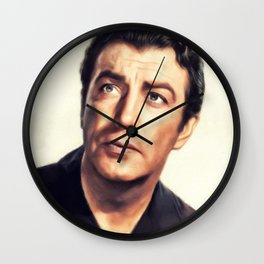 Robert Taylor, Hollywood Legend Wall Clock