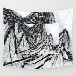 Double Drapery Drawing Wall Tapestry