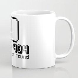 Error 404 Costume not found Coffee Mug