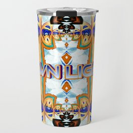 Own Light, a colorful sophisticated pattern Travel Mug