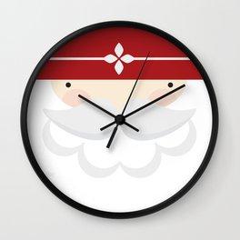 Santa III Wall Clock