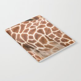 Abstract giraffe picture Notebook