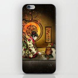 Camellia Tea iPhone Skin