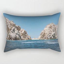 Lovers Beach II Rectangular Pillow