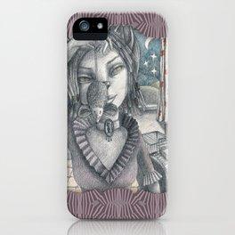Cat metamorphosed iPhone Case