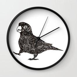 Complex Parrot Wall Clock
