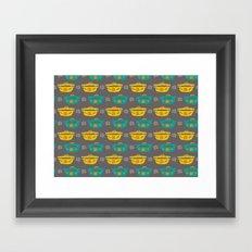 Casserole Dishes Framed Art Print