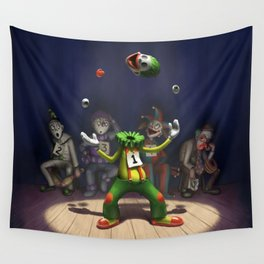 A Hard Act to Follow Wall Tapestry