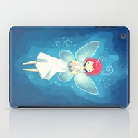 tooth iPad Cases featuring Tooth Fairy by Freeminds