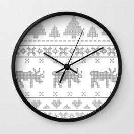 Norvegian Grey Wall Clock