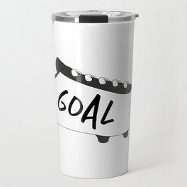 Football Cleats Travel Mug