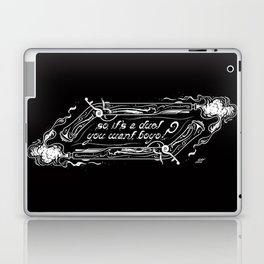 So, it's a duel you want, boyo? Laptop & iPad Skin