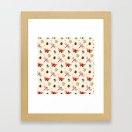 Insects all around Framed Art Print