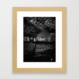 Tombstone Shadow No 9 Framed Art Print
