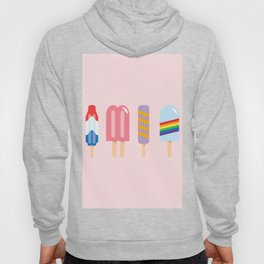 Popsicle - Four Pack Pink #267 Hoody
