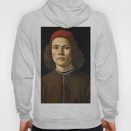 """Sandro Botticelli """"Portrait of a Young Man"""" (II) Hoody"""