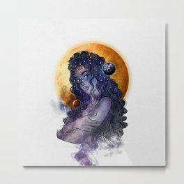 The queen of universe. Metal Print