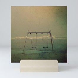 Forgotten swings Mini Art Print