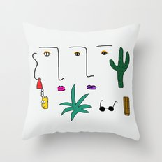 Desert Days  Throw Pillow