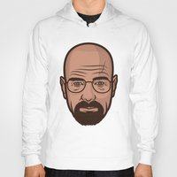 walter white Hoodies featuring Walter White by Michael Walchalk
