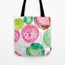 Planets of colors Tote Bag