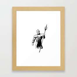 TRITON Framed Art Print