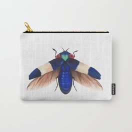 Royal Blue Fly Carry-All Pouch
