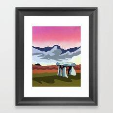 Lanyon Quoit Framed Art Print